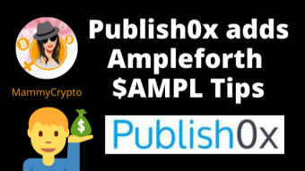 Ampleforth added to Publish0x