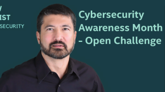 Cybersecurity Awareness Month – Accept My Challenge