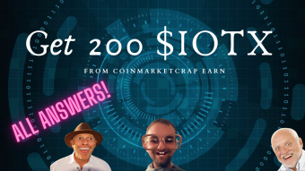How To Get 200 $IOTX from CoinMarketCrap Earn