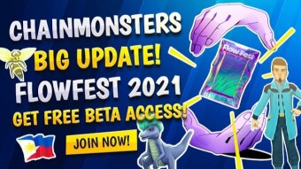Chainmonsters Development Update | Get Beta Access For FREE by Joining Flowfest 2021