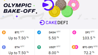 My First Year With Cake DeFi + New Bonus (Olympic Bake Off 2021)