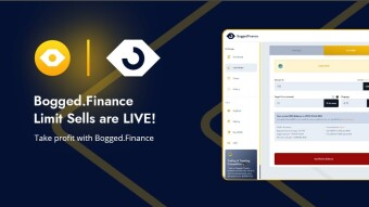 Bogged Finance Launches Take Profit (Limit Sells) for PancakeSwap
