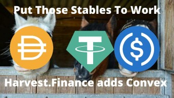 Put those Stables to Work - Harvest.Finance adds Convex