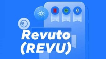 REVU Token From Revuto - The First DAPP Of Cardano (ADA)