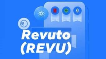 REVU Token From Revuto - The First DAPP Of Cardano (ADA)