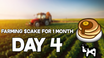 Farming PancakeSwap $CAKE for 1 month! (Day #4)