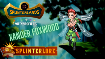 Splinterlands Epic Card Profile - Xander Foxwood