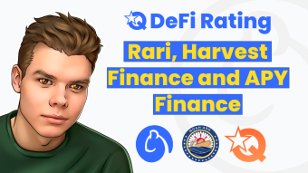 Comparing Rari, Harvest Finance and APY Finance: functionality, number of pools and the amount of funds locked up