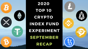 EXPERIMENT - Tracking Top 10 Cryptos Of 2020 - Month Twenty-One – UP 731%