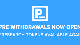 Presearch PRE Withdrawals are Back!