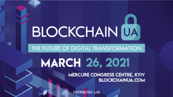 BlockchainUA presents an international blockchain conference on March 26 in Kyiv, Ukraine