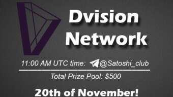 Dvision Network x Satoshi Club AMA Recap from 20th of November