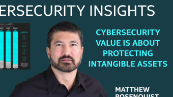 Cybersecurity Value is About Protecting Intangible Assets