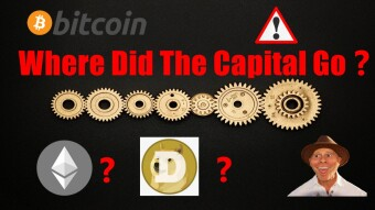 The Price Of BTC Fell Below $47,000❗ Where Did The Capital Go❓
