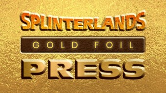 Gold Foil Press - Splinterlands' Email News - 12/2 Issue