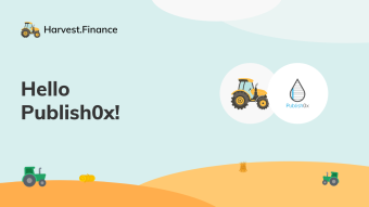Hello From Harvest Finance!