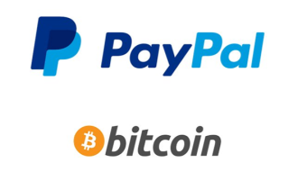 Bitcoin accepted by PayPal!