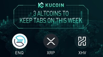3 Altcoins To Keep Tabs On — ENQ, XRP, XHV   KuCoin Weekly Review Issue #16