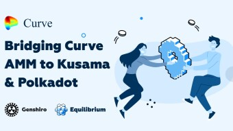The W3F Grant is completed and our Curve implementation to be launched on Genshiro first, our canary network on Kusama