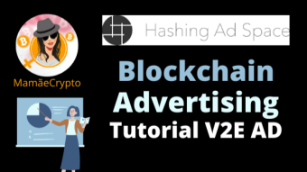 Blockchain Advertising with Hashing Ad Space - V2E AD TUTORIAL