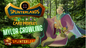 Splinterlands Rare Summoner Profile - Mylor Crowling