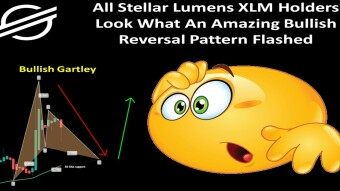 All Stellar Lumens XLM Holders Look What An Amazing Bullish Reversal Pattern Flashed