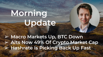 Morning‌‌ ‌‌Update—April 22nd—Macro and Crypto Markets