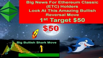 Big News For Ethereum Classic (ETC) Holders | Look At Amazing Bullish Reversal Move 1st Target $50