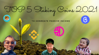 TOP 5 Staking Coins To Generate Passive Income In 2021 🔥