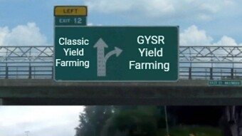 Geyser (GYSR) and the yield farming of the future!