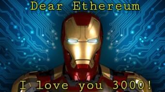 Ethereum ... I love you 3000