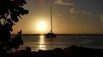 11 days of cruise in the Caribbean. Saint Vincent, Union Island, Tobago Keys.