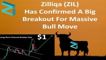 Zilliqa (ZIL) Has Confirmed A Big Breakout For Massive Bull Move