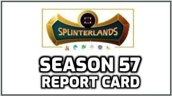 Splinterlands | Season 57 Report Card