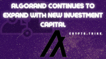 Algorand Continues to Outperform Competitors - Attracts New Investment Capital