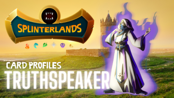 Splinterlands Rare Card Profile - Truthspeaker