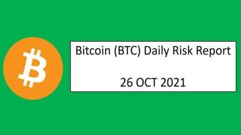26 OCT 2021 (TUE)- Bitcoin (BTC) Daily Risk Report