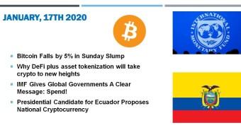 🗞 Daily Crypto News, January, 17th💰
