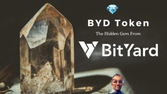 And The Gem Hunt Goes On  💎  This Time With The BYD Token From BitYard