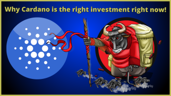 Why Cardano is the right investment right now!