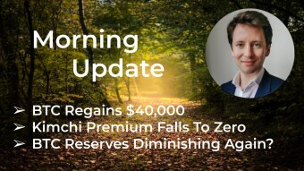 Morning Update—July 29th—Macro and Crypto Markets
