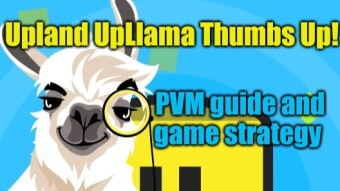 Game review and play strategy: Upland ... UpLlama ... thumbs Up!