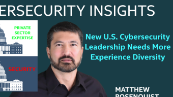 New U.S. Cybersecurity Leadership Needs More Experience Diversity