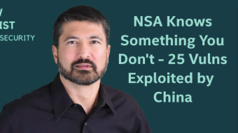 The NSA knows something you don't