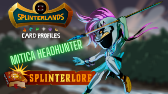 Splinterlands Epic Card Profile - Mitica Headhunter