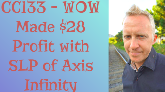 CC133 - WOW Made $28 Profit with SLP of Axis Infinity