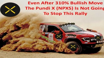 Even After 310% Bullish MoveThe Pundi X (NPXS) Is Not Going To Stop This Rally
