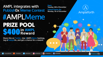 #AMPLMeme - a Meme Creation Contest on #Publish0x - $400 in $AMPL Prizes!