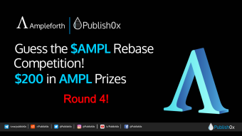 Guess #AMPL Rebase Competition - Round 4: Giving Away $200 in $AMPL!