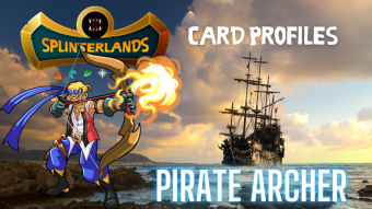 Splinterlands Rare Card Profile - Pirate Archer
